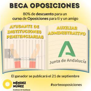 beca oposiciones auxiliar administrativo